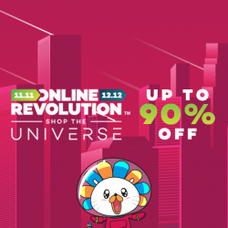 [Lazada Singapore] The time to shop is NOW at the biggest sale in the universe this 11.