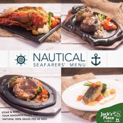 [Jack's Place] Taste the goodness of the sea this November with our Nautical Seafarer's Menu!