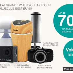 [Valore Challenger] ValueClub member enjoy up to 70% off on selected Valore items!