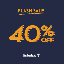 [Timberland Singapore] FLASH SALE alert!