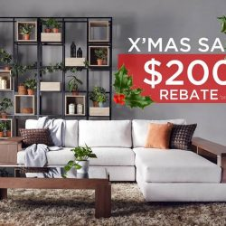 [Cellini] It's Christmas Time - and we're kicking off this jolly reason with a $200 rebate on selected sofas!