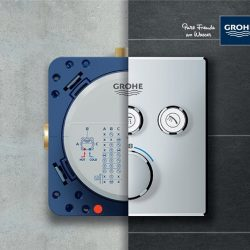 [GROHE SPA] LESS IS MUCH MORE, ONE PLATE DOES IT ALL!