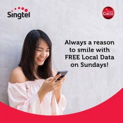 [Singtel] FREE local data on Sundays for all Singtel Circle customers!