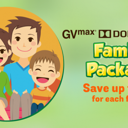 [Golden Village] Time is precious, waste it wisely with GV VivoCity's GVmax, Dolby Atmos Family Package!