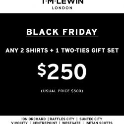 [T. M. Lewin] Don't miss out our irresistible Black Friday Deal!