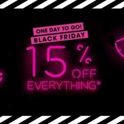 Sephora: Black Friday Sale with 15% OFF Everything Online & In Stores