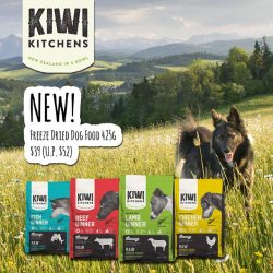 [Pet Lovers Centre Singapore] Kiwi Kitchens RAW Freeze Dried Food is made from whole foods sourced entirely from the farms and waters of New