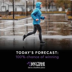 [Anytime Fitness] You can dance in the storm.