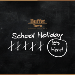 [Buffet Town] School's out!