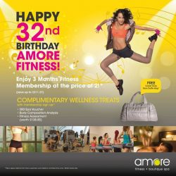 [Amore Fitness] It's the last day of our anniversary promotion!