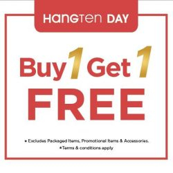 [Hang Ten] Have you caught Hang Ten's Anniversary sale yet?