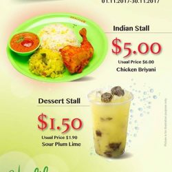 [Kopitiam] Check out Healthy Kopitiam's attractive promotions if you're at Yishun Community Hospital.
