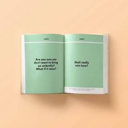 [The Little Drom Store] We're happy to launch our fourth publication - Singlish VS English book!