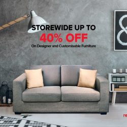 [RED APPLE] Christmas comes early with Red Apple's extraordinary year end sale, with up to 40% OFF on all furniture storewide!