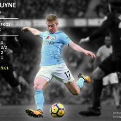 [Premier Football Singapore] Kevin de Bruyne is our Premier League Player of the Week for Matchweek 11!