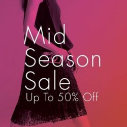 [G2000 Outlet] LAST FEW DAYS to enjoy our Mid Season Sale and get up to 50% off selected items!