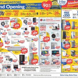 [Courts] Missed out on last weekend COURTS Megastore Grand Opening Sale?