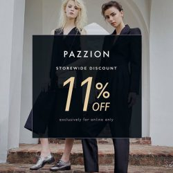 [PAZZION Singapore] 11% off storewide starts now!