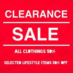 [Grandchild] grandchild clearance sale starts tomorrow 11am!