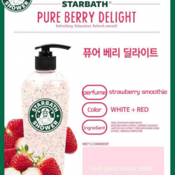 [NICE Cosmetics] QUENCH our skin with these refreshing fruits bodywash by STARBATH from Korea.