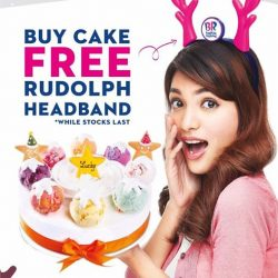 [Baskin Robbins] Switch on your Christmas mood with our ice cream cakes!