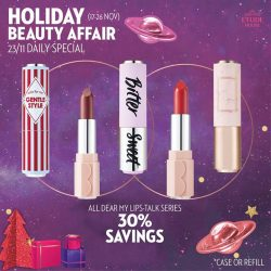 [Etude House Singapore] Be My Universe Holiday Beauty Affair 🔮- Daily Special Day 7 -Enjoy 30% Savings on any Play Color Eyes Palettes.