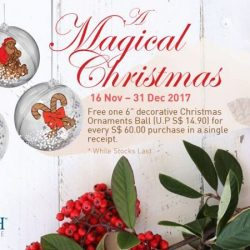 [ARCH] A Magical Christmas 16 November – 31 December 2017Spend S$60.