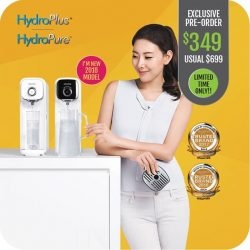 [Novita] Accentuating the space on your kitchen countertop, the novita Countertop Water Purifier NP313 offers you quality HydroPlus® or HydroPure™ water