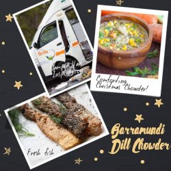 [The Soup Spoon] Barramundi Dill Chowder | You will love the sweet-tasting locally farmed barramundi in this chowder, packed with omega-3 and