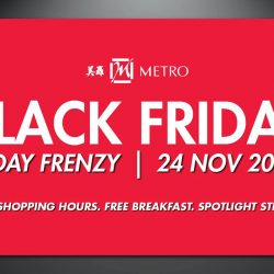 [Metro] Gear up for a shopping frenzy on Black Friday.