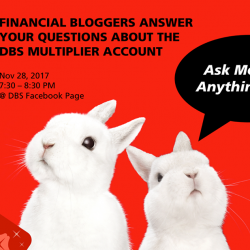 [DBS Bank] Save the date for DBS's first Ask-Me-Anything (AMA) session on the New DBS Multiplier, with guest bloggers