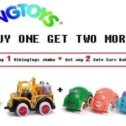 [The Collector] Do not miss out this chance to get Vikingtoys Cute Cars Baby for FREE!