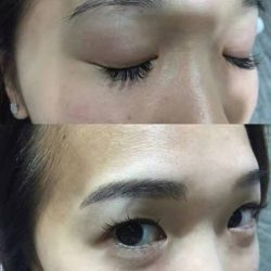 [Brow Art Studio] Natural Eyebrow embroidery that you can't tell the difference from real done by our master artist Jenny Xu.