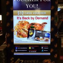 [Uncle Leong Signatures] Get $10 Voucher for every $50 dollars spent, ends this month!