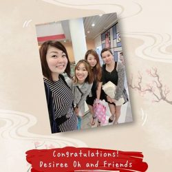 [Yunomori Onsen and Spa] Congratulations to Desiree Oh and friends from SHOOT&SHARE Online Activity.
