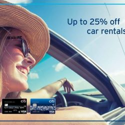 [Citibank ATM] Looking to rent a car for your upcoming holiday?