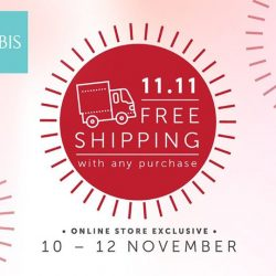 [ORBIS] In celebration of Singles Day, enjoy FREE SHIPPING with any purchase on the ORBIS Online Store from 10-12 November!