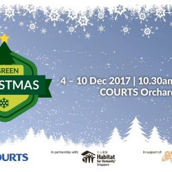 "[Courts] COURTS Singapore is partnering with Habitat for Humanity Singapore in support of the Sustainable Singapore Movement for a ""Green Christmas"""
