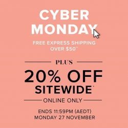 [Forever New] Cyber Monday Starts Now - Free Express Shipping Over $50** PLUS 20% Off Sitewide* Shop Now: https://www.