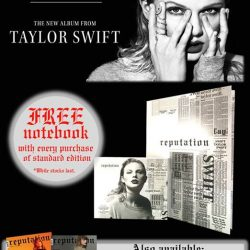 [POPULAR Bookstore] After three long years, Taylor Swift's 'REPUTATION' is finally here!