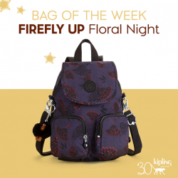 [Kipling] Whether it's for day trips or weekend adventures, carry the FIREFLY UP by the top handle, over your shoulder