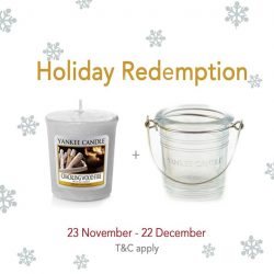 [Yankee Candle] It's one week to Holiday Redemption time!