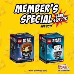 [Bricks World (LEGO Exclusive)] NOVEMBER MEMBER'S SPECIAL!