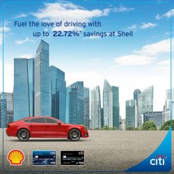 [Citibank ATM] Fuel the love of driving with up to 22.