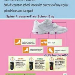[Dr Kong] Get the right shoes for your kids for upcoming school year!