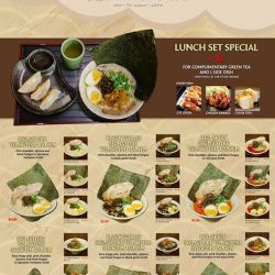 [Shin-Sapporo Ramen] Check out our new set lunch deal for our seasonal menu that includes the popular and yummy buta shogayaki!