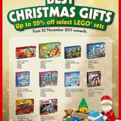 [Toy Station] LEGO SINGAPORE TOP 10 X'MAS GIFTS FOR 2017Annnndddd the good people at LEGO Singapore have come up with