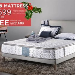 [Cellini] Bed & Mattress Special!