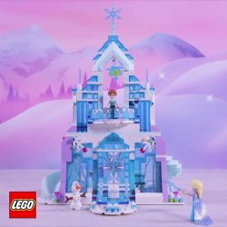 [The Brick Shop] Make your own winter wonderland with this awesome Frozen activity – freeze water with just one touch!