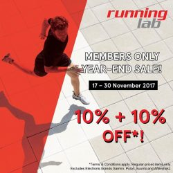[Velocity] Running Lab Members Only Year-End Sale is NOW ON at 01-47!